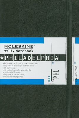 Moleskine City Notebook Philadelphia - Moleskine