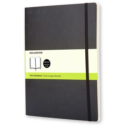 Moleskine Soft Cover Plain Notebook - Moleskine (Creator)