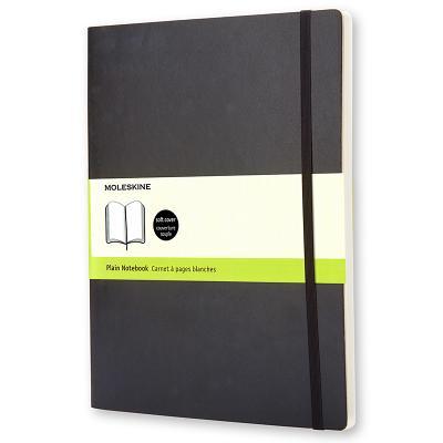 Moleskine Soft Cover Plain Notebook - Moleskine