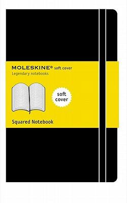 Moleskine Squared Notebook Soft Cover Pocket - Moleskine