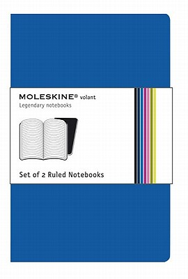 Moleskine Volant Ruled Notebook: Blue - Moleskine (Creator)