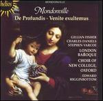Mondonville: De Profundis; Venite exultemus - Charles Daniels (haute contre vocal); Gillian Fisher (soprano); Stephen Varcoe (bass);...