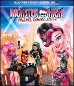 Monster High: Frights, Camera, Action! [2 Discs] [Blu-ray/DVD]