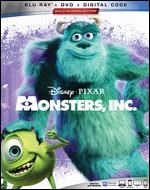 Monsters, Inc. [Includes Digital Copy] [Blu-ray/DVD] - David Silverman; Lee Unkrich; Pete Docter