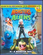 Monsters vs. Aliens [Blu-ray]