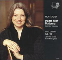 Monteverdi: Pianto della Madonna - Concerto Soave; Jean-Marc Aymes (organ); Maria Cristina Kiehr (soprano); Jean-Marc Aymes (conductor)