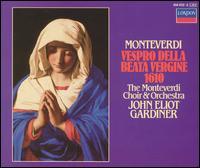 Monteverdi: Vespro della Beata Vergine 1610 - Alastair Ross (organ); David Monrow Recorder Ensemble; Felicity Palmer (soprano); James Bowman (counter tenor);...