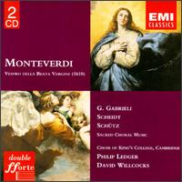 Monteverdi: Vespro della beata virgine - Anthony Rolfe Johnson (tenor); Cambridge University Musical Society; Charles Brett (alto); Elly Ameling (soprano);...