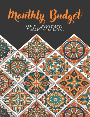Monthly Budget Planner: Money Debt Tracker Financial Journal, Monthly & Weekly Daily Budget Expense Tracker Bill (Black Cover) - Stallworth, Joni