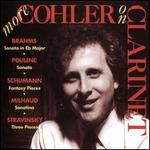 More Cohler on Clarinet