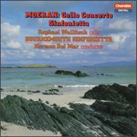 Morean: Cello Concerto; Sinfonietta - Raphael Wallfisch (cello); Bournemouth Sinfonietta; Norman del Mar (conductor)