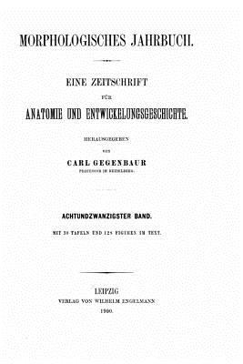 Morphologisches Jahrbuch - Gegenbaur, Carl