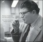 Morton Feldman: First Recordings, 1950s