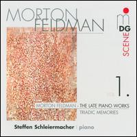 Morton Feldman: The Late Piano Works, Vol. 1 - Steffen Schleiermacher (piano)
