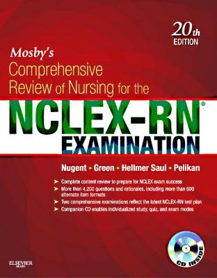 Mosby's Comprehensive Review of Nursing for the Nclex-Rn? Examination - Nugent, Patricia M, RN, Ma, MS, Edd, and Green, Judith S, and Hellmer Saul, Mary Ann