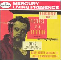 Moussorgsky/Ravel: Pictures At An Exhibition; Bartók: Music for Strings, Percussion & Celesta - Allan Graham (percussion); Edward Metzenger (tympani [timpani]); George Schick (piano); Irwin Fischer (celeste);...