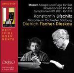 Mozart: Adagio und Fugue KV 546; Klavierkonzert KV 456; Symphonien KV 202-KV 318