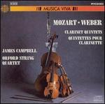 Mozart and Weber: Clarinet Quintets