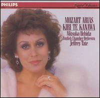 Mozart Arias - Charles Tunnell (cello); Frank Lloyd (horn); Jose-Luis Garcia (Asensio) (violin); Kiri Te Kanawa (soprano); Mitsuko Uchida (piano); Neil Black (oboe); Peter Bronder (tenor); William Bennett (flute); English Chamber Orchestra; Jeffrey Tate (conductor)