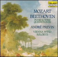 Mozart, Beethoven: Piano and Wind Quintets in E flat - André Previn (piano); Vienna Wind Soloists