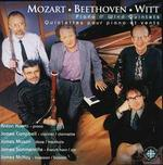 Mozart, Beethoven, Witt: Piano and Wind Quintets