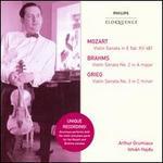 Mozart, Brahms, Grieg: Violin Sonatas