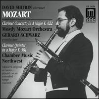 Mozart: Clarinet Concerto; Clarinet Quintet - David Shifrin (clarinet); Fred Sherry (cello); Ida Kavafian (violin); Theodore Arm (violin); Toby Appel (viola);...