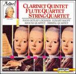 Mozart: Clarinet Quintet; Flute Quartet; String Quartet