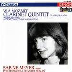 Mozart: Clarinet Quintet; Weber/K�ffner: Introduction, Theme & Variations