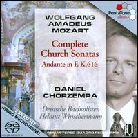 Mozart: Complete Church Sonatas; Andante in F, K.616 - Daniel Chorzempa (organ); German Bach Soloists; Helmut Winschermann (conductor)