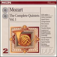 Mozart: Complete Quintets, Vol. 1 - Academy of St. Martin-in-the-Fields Chamber Ensemble; Arpad Gérecz (violin); Arthur Grumiaux (violin); Claus Klein (horn);...