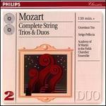 Mozart: Complete String Trios & Duos - Academy of St. Martin in the Fields Chamber Ensemble; Arrigo Pelliccia (viola); Arthur Grumiaux (violin); Grumiaux Trio