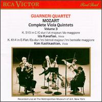 Mozart: Complete Viola Quintets, Vol. 3 - Arnold Steinhardt (violin); David Soyer (cello); Guarneri Quartet; Ida Kavafian (violin); John Dalley (violin);...