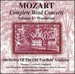 Mozart: Complete Wind Concerti, Vol. 1: Woodwind