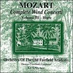 Mozart: Complete Wind Concerti, Vol. 3