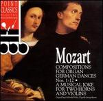 Mozart: Compositions for Organ