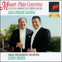 Mozart: Concerto In G Major/Concerto In D Major/Andante In C Major/Rondo In D Major - Jean-Pierre Rampal (flute); Zubin Mehta (conductor)