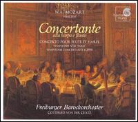 Mozart: Concerto pour Flute et Harpe; Symphonie No. 31; Symphonie Concertante, K. 297B - Mara Galassi (harp); Susanne Kaiser (flute); Freiburger Barockorchester; Gottfried von der Goltz (conductor)