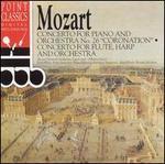 """Mozart: """"Coronation"""" Concerto; Concerto for Flute, Harp & Orchestra"""