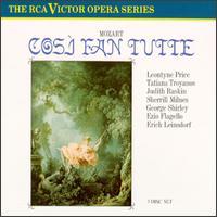 Mozart: Così fan tutte - Ezio Flagello (bass); George Shirley (tenor); Judith Raskin (soprano); Leontyne Price (soprano); Sherrill Milnes (baritone);...