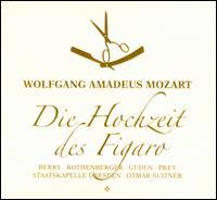 Mozart: Die Hochzeit des Figaro - Annelies Burmeister (alto); Anneliese Rothenberger (soprano); Edith Mathis (soprano); Fritz Ollendorf (vocals);...