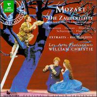 Mozart: Die Zauberflöte [Highlights] - Anna-Maria Panzarella (soprano); Anton Scharinger (baritone); Delphine Haidan (alto); Doris Lamprecht (mezzo-soprano);...