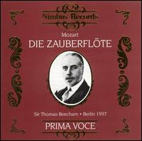 Mozart: Die Zauberflöte - Carla Spletter (soprano); Elfriede Marherr (soprano); Erna Berger (soprano); Ernst Fabbry (tenor); Gerhard Hüsch (baritone);...