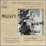Mozart: Divertimenti, K287 & K563