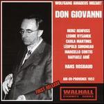 Mozart: Don Giovanni (Aix-en-Provence, 1952)
