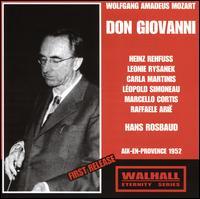 Mozart: Don Giovanni (Aix-en-Provence, 1952) - Carla Martinis (vocals); Ensemble Vocal De Paris; Eraldo Coda (vocals); Heinz Rehfuss (vocals); Leonie Rysanek (vocals);...