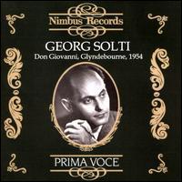 Mozart: Don Giovanni, Glyndebourne 1954 - Anny Schlemm (vocals); Antonina Nezhdanova (vocals); Benno Kusche (vocals); Claudia Muzio (vocals); Dmitri Smirnov (vocals);...