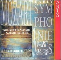 Mozart: Early Symphonies, Vol. 3 - I Solisti Veneti; Claudio Scimone (conductor)