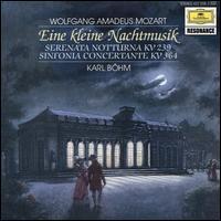 Mozart: Eine kleine Nachtmusik - Emil Maas (violin); Giusto Cappone (viola); Heinz Kirchner (viola); Leon Spierer (violin); Rainer Zepperitz (contrabass); Thomas Brandis (violin); Wolfgang Amadeus Mozart (candenza); Karl Böhm (conductor)