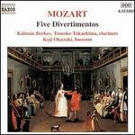 Mozart: Five Divertimentos, K.439b